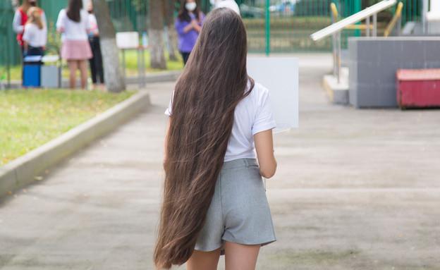 נערכה מתבגרת (צילום: Potashev Aleksandr, Shutterstock)