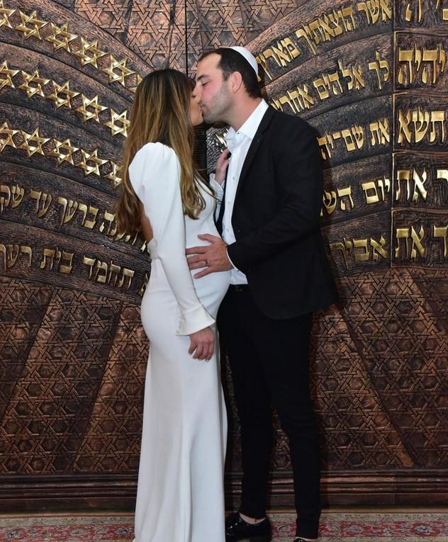 עמיר גולדברג התחתן