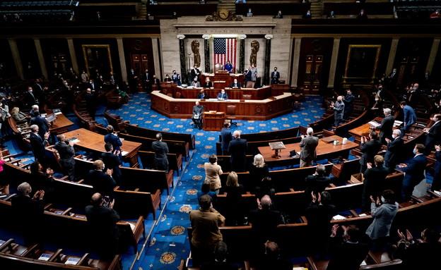 """הקונגרס האמריקני, ארה""""ב, ארצות הברית, קונגרס, בית הנבחרים, סנאט (צילום: רויטרס)"""