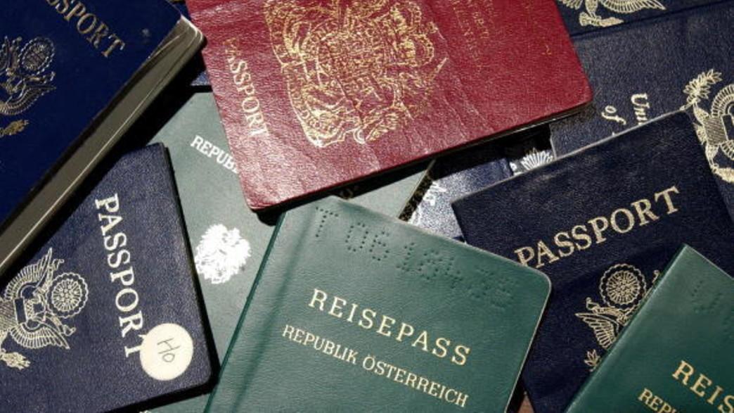 דרכון זר (צילום: Justin Sullivan, GettyImages IL)