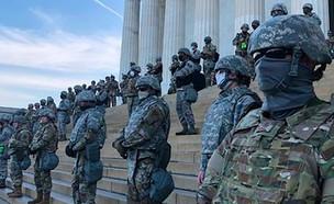 כוחות המשמר הלאומי בוושינגטון (צילום: CNN)