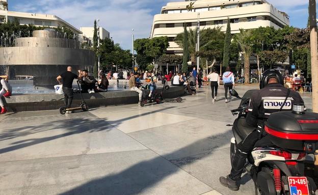 כיכר דיזינגוף (צילום: דור מאיר מועלם)