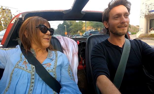 ליאור סושארד ורינה מצליח (צילום: N12)