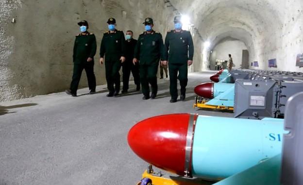 בסיס הטילים הסודי שחשפה אירן