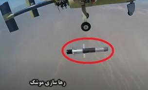 הטיל (צילום: NBRAS AL2RD, YouTube)