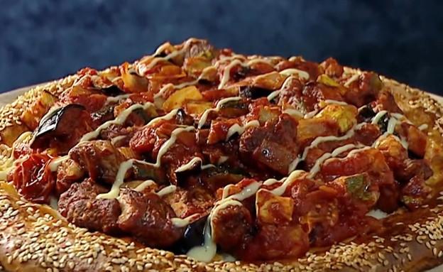 """רטטוי טלה עם לחם רמדאן (צילום: מתוך """"מאסטר שף 9"""", קשת 12)"""