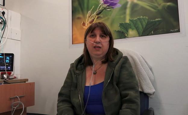 """דבורה צור, מאושפזת במחלקת הקורונה ברמב""""ם"""