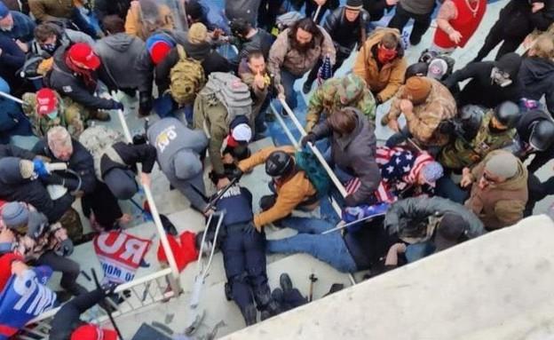"""השוטר שהוכה למוות בהפגנות בארה""""ב (צילום: cnn)"""