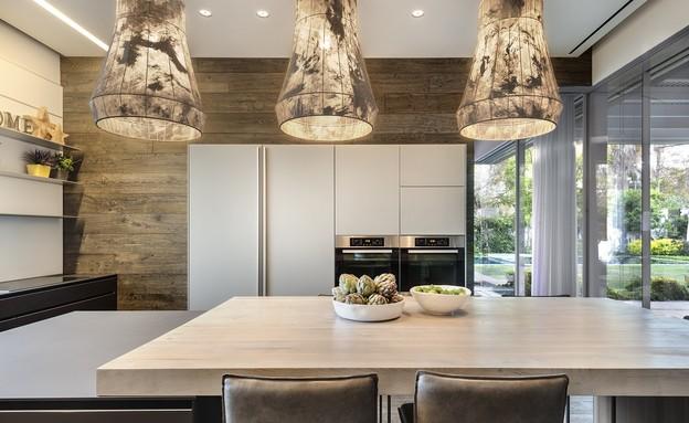 מטבח כפול, עיצוב פרנקל אדריכלות ועיצוב - 2 (צילום: עודד סמדר)
