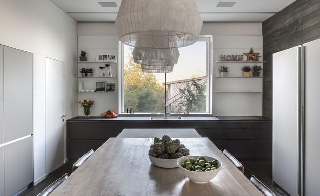 מטבח כפול, עיצוב פרנקל אדריכלות ועיצוב - 3 (צילום: עודד סמדר)