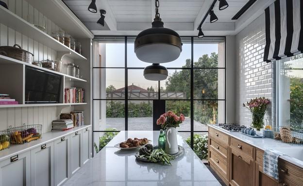 מטבח כפול, עיצוב פרנקל אדריכלות ועיצוב - 4 (צילום: עודד סמדר)