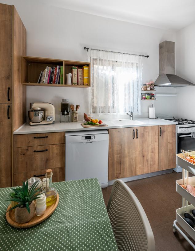 מטבח כפול, ג, עיצוב בותיינה מוראד-ביבאר - 1 (צילום: ארז חיים)