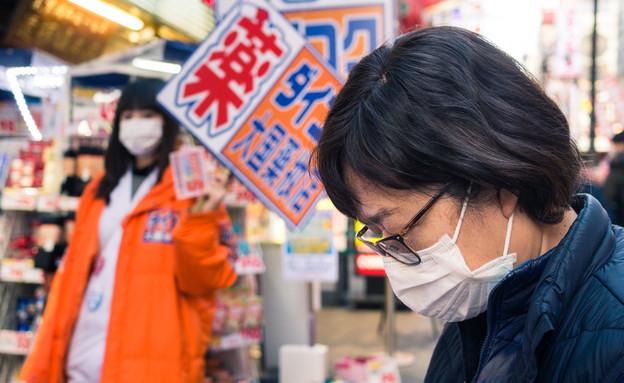קורונה, יפן (צילום: Ally Lee / Shutterstock.com)