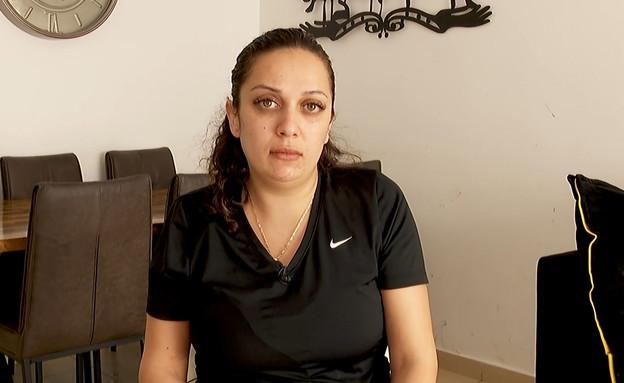 ליאנה שנדקרה על ידי בעלה (צילום: N12)