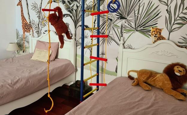 חדר ילדים פעיל, עיצוב אנה שוראפי (צילום: אנה שוראפי)