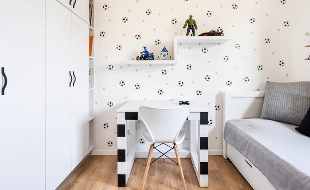 חדר ילדים פעיל, עיצוב שרון גולן, ביצוע נגריית ראמיל (צילום: מאור מויאל)