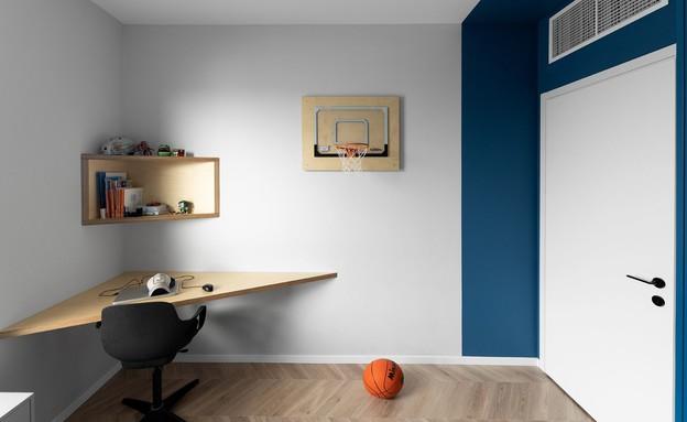 חדר ילדים פעיל, עיצוב שרון גולן (צילום: גדעון לוין)