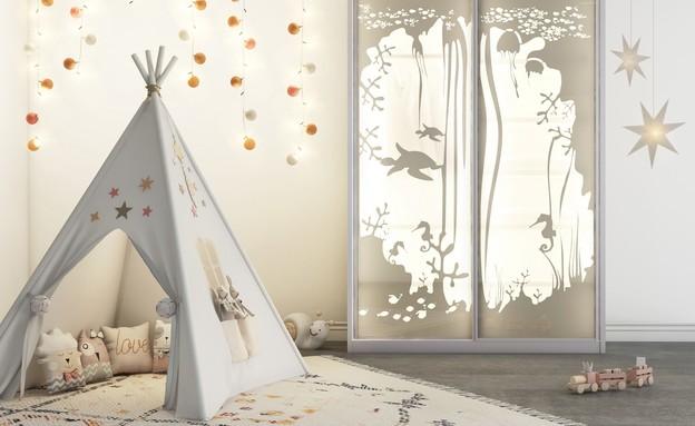 חדר ילדים פעיל, ארונות ריביירה, עיצוב טל וולנסקי סגרה (צילום: יחצ)