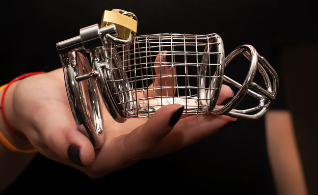 חגורת צניעות לגבר (צילום: vilma3000, Shutterstock)
