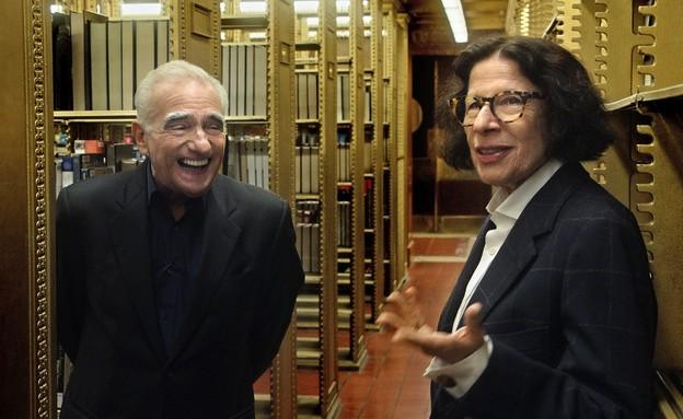 פראן ליבוביץ ומרטין סקורסזה (צילום: netflix, TriStar Pictures)
