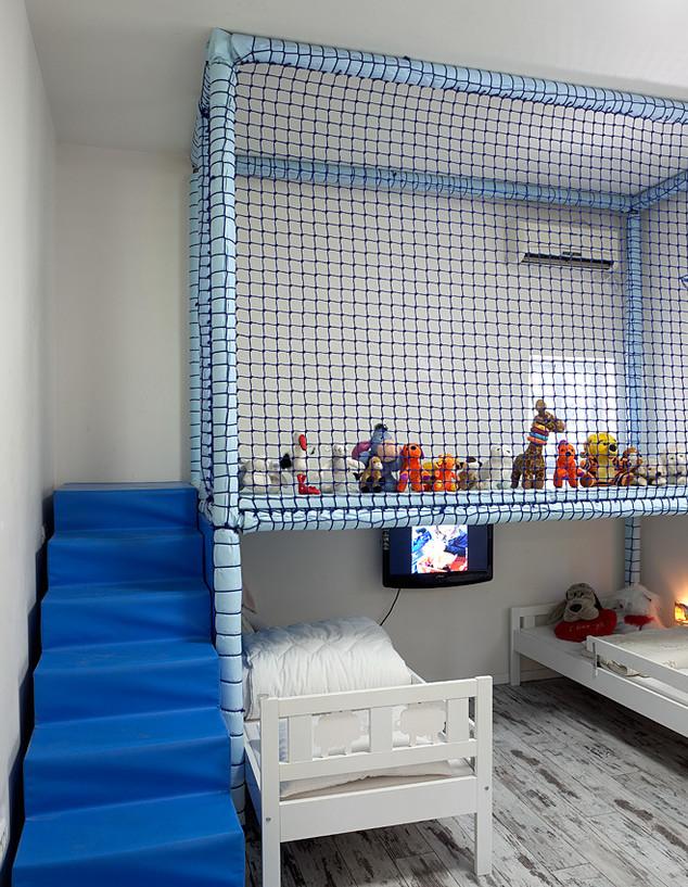 חדר ילדים פעיל, עיצוב עידו לאור (צילום: אלעד שריג)