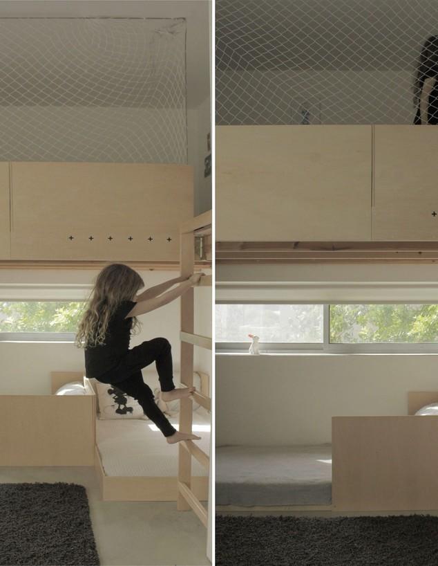 חדר ילדים פעיל, עיצוב קרן מילכברג פורת (צילום: Studio ID253)