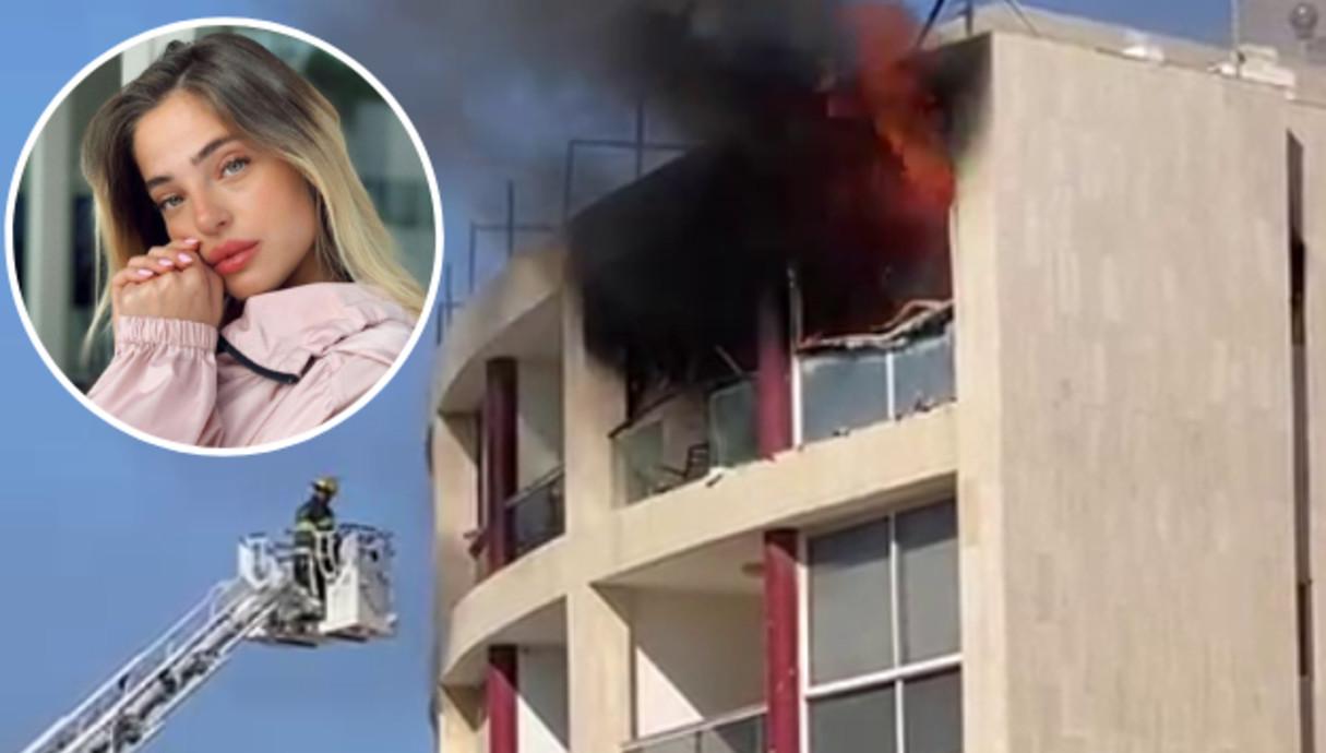 הבית של נוי קרקו נשרף