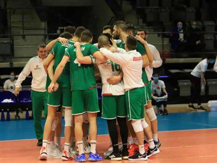 נבחרת בולגריה. מרוצה מהניצחון (דויד סלברמן) (צילום: ספורט 5)