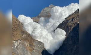 מפולת נפאל (צילום: naren32, אינסטגרם)