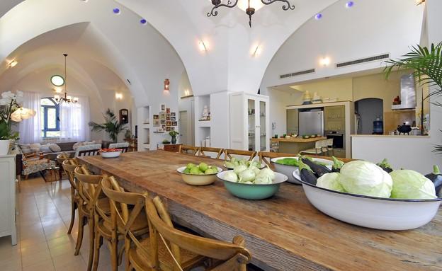 אחסון  פירות וירקות, עיצוב אורית שרמן נהרי (צילום: קובי פרידמן)