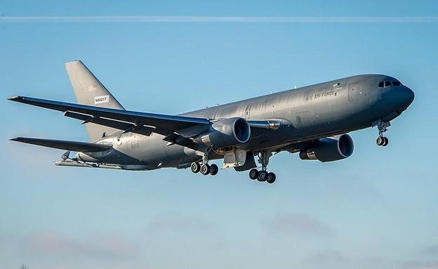 המטוס (צילום: US_Stratcom, Twitter)