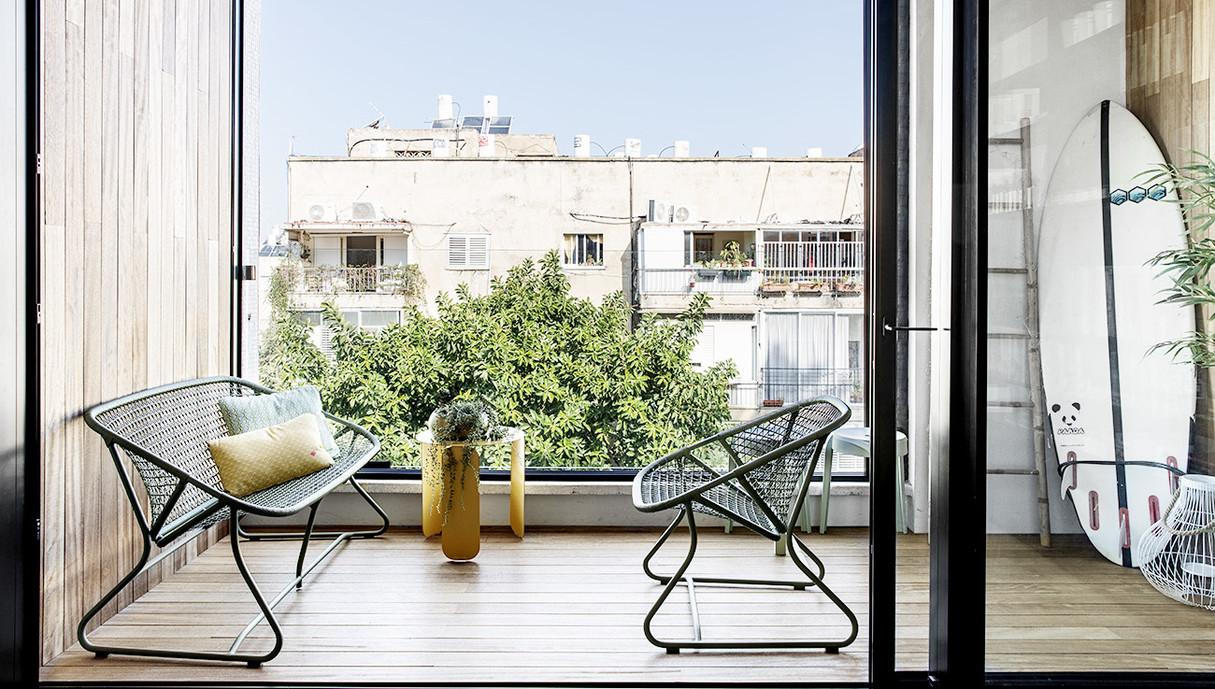 דירה בתל אביב, עיצוב יפעת מטוס - 4