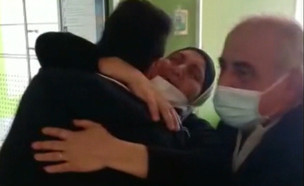 """בן 17 חלה בקורונה ואושפז בסכנת חיים (צילום: מתוך """"חדשות הבוקר"""" , קשת 12)"""