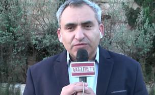 """זאב אלקין פוסל שיתוף פעולה עם המשותפת (צילום: מתוך """"חדשות הבוקר"""" , קשת 12)"""