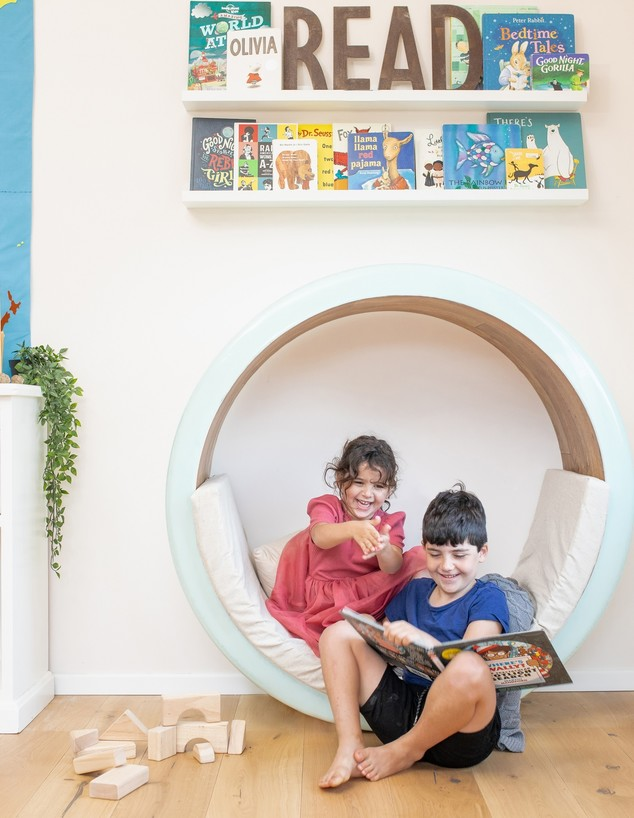 חדר ילדים פעיל, ג, עיצוב סתיו רז והמותג nooks (צילום: עיצוב סתיו רז, צילום אופק אבשלום)
