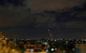 ירי רקטות מעוטף עזה (צילום: ללא, חדשות)