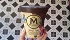 גלידה מגנום שוקולד לבן עוגיות (צילום: צילום ביתי, אוכל טוב)