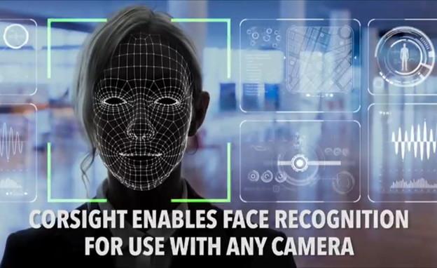 טכנולוגית זיהוי פנים ישראלית (צילום: Corsight)