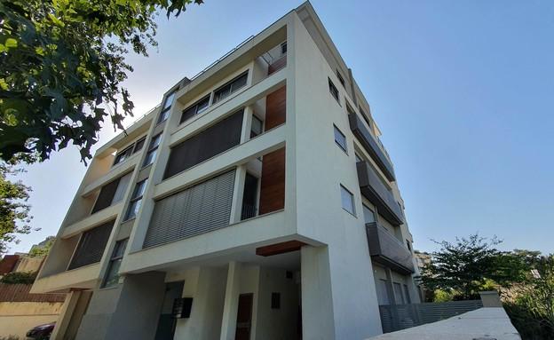 הבניין ברחוב קהילת אודסה בתל אביב (צילום: אדריכל גיא כנען V5 אדריכלים)