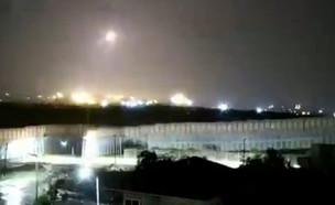 שיגור הרקטות מעזה לישראל (צילום: דדי פולד)