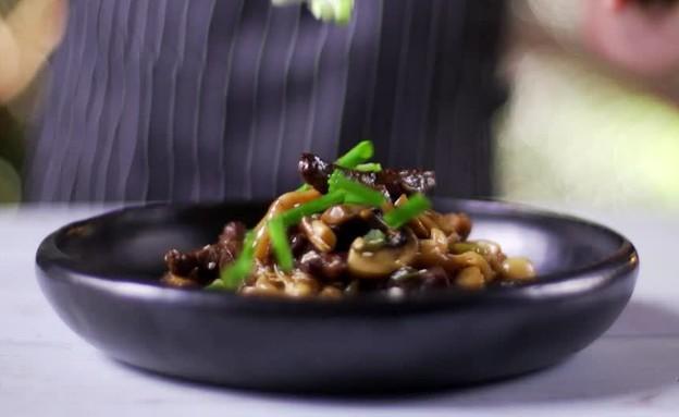 מוקפץ אטריות אורז (צילום: מועצת הבקר)