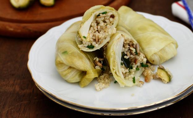 כרוב ממולא צמחוני (צילום: אפיק גבאי, אוכל טוב)