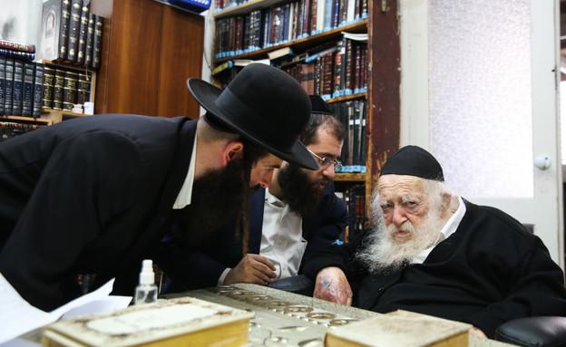 הרב קנייבסקי, הרב קניבסקי, חרדי (צילום: דוד כהן, פלאש 90)
