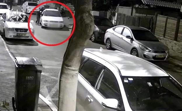 רכב גנוב (צילום: דוברות משטרת ישראל)