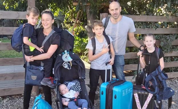 מיכל ורדיגר והמשפחה (צילום: אלבום פרטי)
