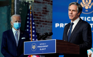 "ג'ו ביידן, אנתוני בלינקן, ארה""ב, ארצות הברית (צילום: רויטרס)"
