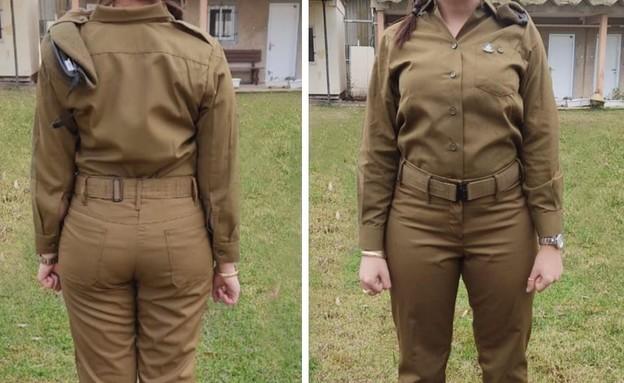"""מדים חדשים עם גזרה מותאמת לנשים (צילום: דובר צה""""ל)"""