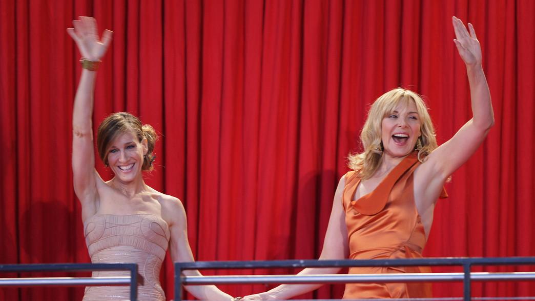 קים קטרל ושרה ג'סיקה פרקר, 2008 (צילום: Andreas Rentz via Getty Images)