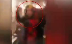 מבודדים מתפרעים במלונית הקורונה  (צילום: חדשות בזמן אמת, mako חופש)