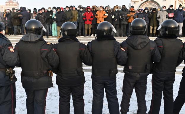 תומכיו של נבלני מתכננים הפגנות לשחרורו ברחבי רוסיה (צילום: רויטרס)